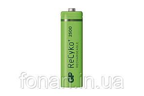 Аккумулятор Ni-Mh GP ReCyko+ AA (250AAHCE, R6), 2500mAh