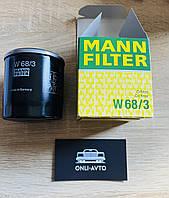 Фильтр масляный Toyota, Geely, производитель MANN W68/3