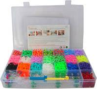 Набор резинок для плетения 6200 шт + 2 станка Loom Bands