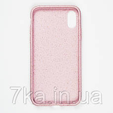 Биоразлагаемый чехол ECO Wheat Straw для iPhone XR Pink, фото 3