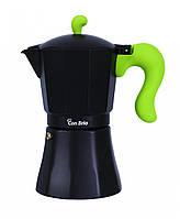 Гейзерная кофеварка на 9 чашек Con Brio СВ-6609-green
