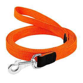 """03404 Повідець х/б тасьма """"CoLLaR"""" кольоровий (ширина 20мм, довжина 200см) помаранчевий"""