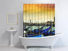 Штори для ванної човни