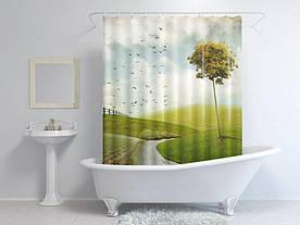 Штори для ванної птиці