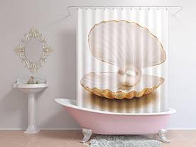 Штори для ванної перлина