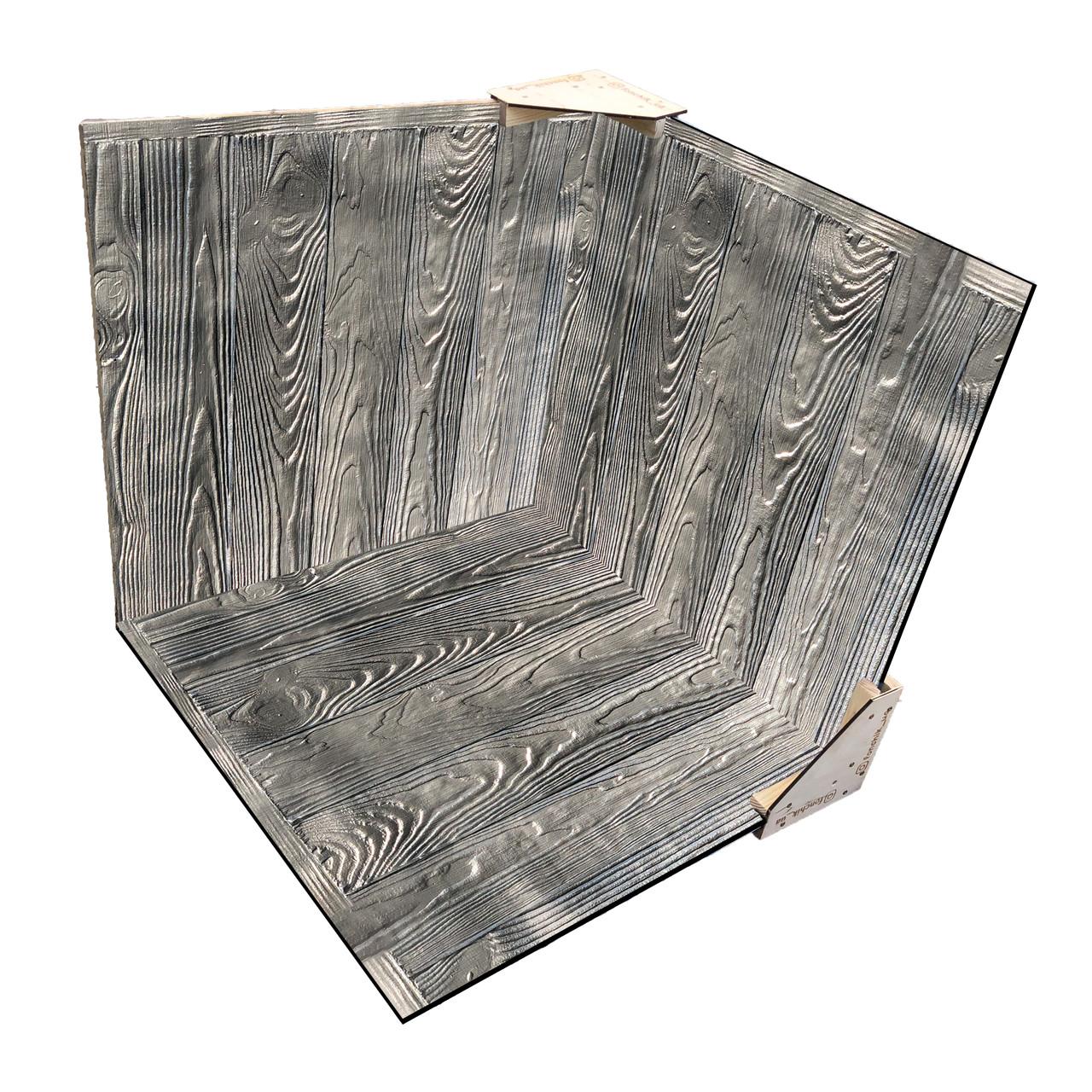 Деревянный 3D фотофон Хром