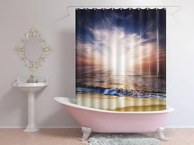 Штори для ванної море і небо