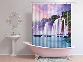 Штори для ванної водоспади