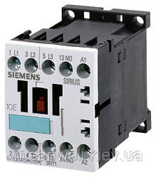 3RT1015-1BB41 Контактор Siemens 3p, 7А, 3кВт/400V, 1NO, 24VDC, S00