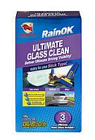 Очиститель для стекол Bullsone RainOK / рассчитано на 8 обработок / 100 мл