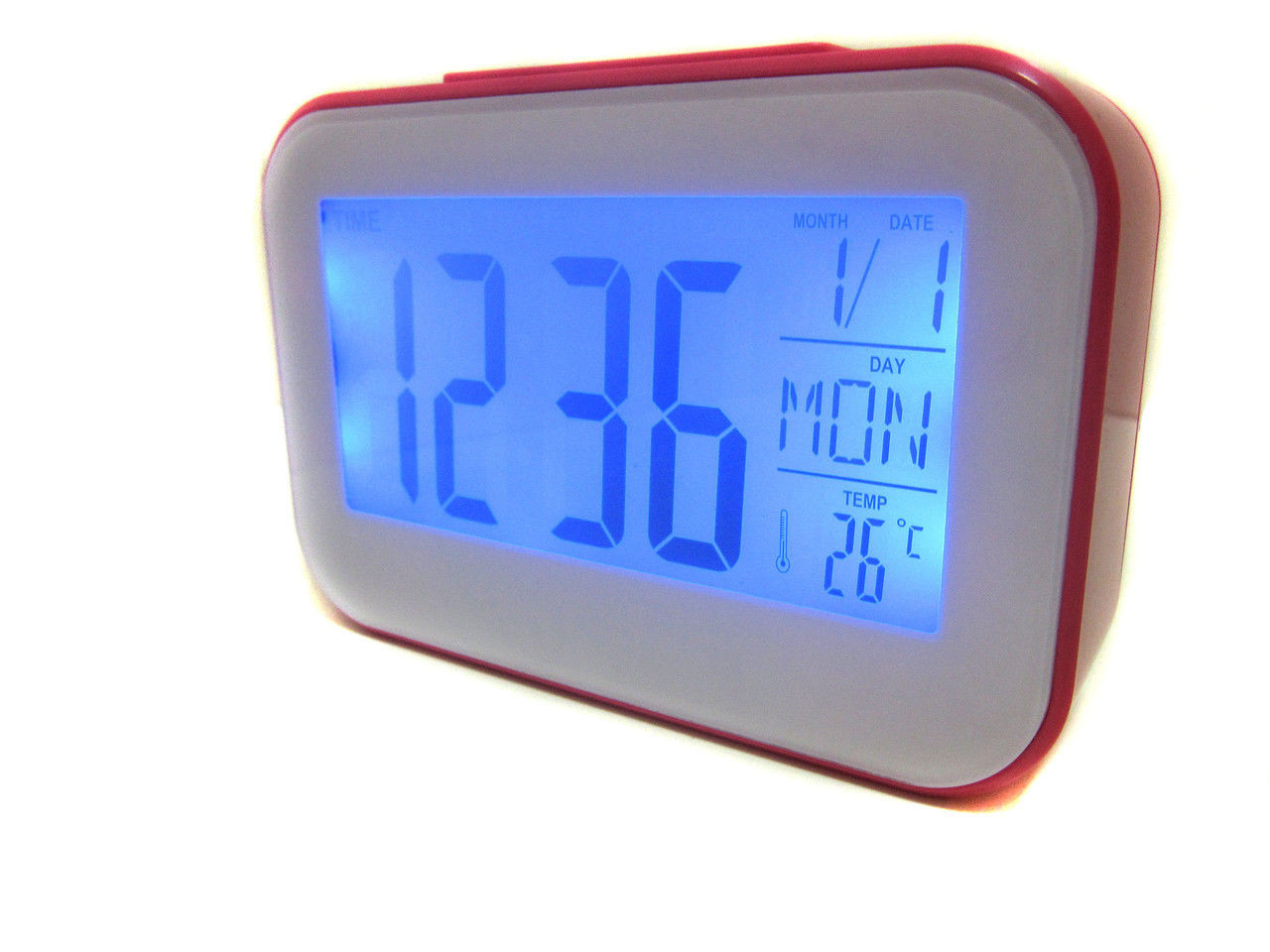 02c649b8 Часы будильник термометр календарь 2620, цена 171 грн., купить в ...