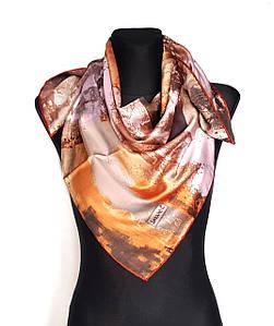 Платок шелковый женский стильный Зефир