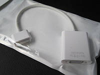 Apple iPad iPhone iPod Dock Connector VGA Adapter адаптер VGA (вывод на аналоговый VGA вход) MC552ZM/B