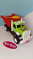 Вантажівка + пісочний набір лопатка і формочки 12-010, фото 1
