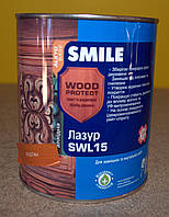 Лазурь  антисептирующая  для дерева Wood Protect SWL 15 Smile ( 0,75 л)