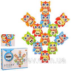 """Игровой набор """"Балансирующие блоки"""" S239 (72шт 2) 12 блоков, изучение порядкового счета ,в кор. 23*4"""