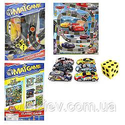 """Игровой коврик RC223 (108шт 2)""""Rally"""",машинки, в пакете 40*30см"""
