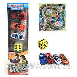 """Игровой коврик RC333-2 (90шт 2)""""Rally"""",машинки, в коробке 10*8*36см"""
