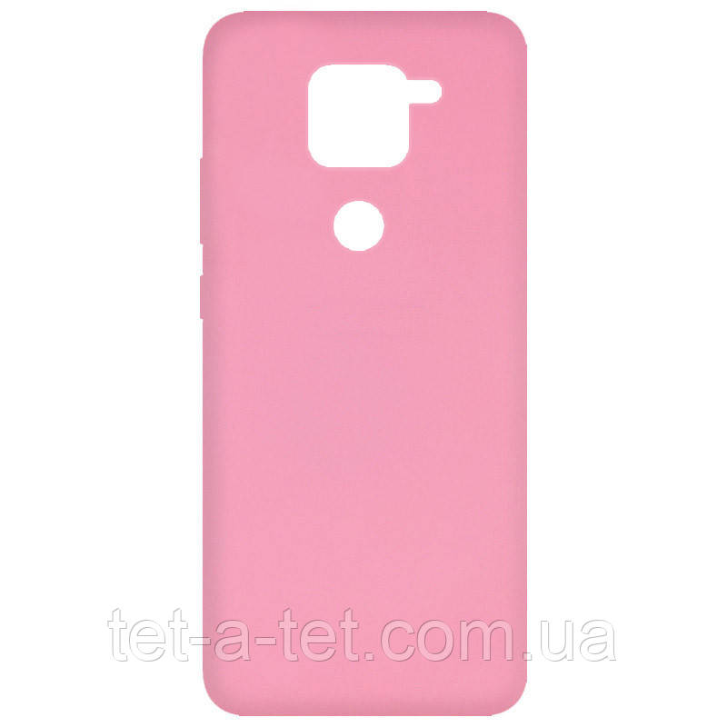 Чохол Silicone Cover Full для Xiaomi Redmi Note 9 Pink (рожевий)