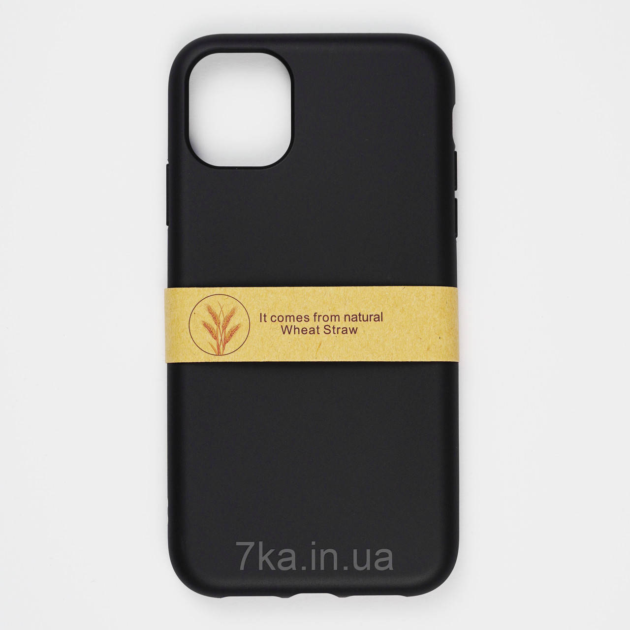 Биоразлагаемый чехол ECO Wheat Straw для iPhone 11 Pro Black
