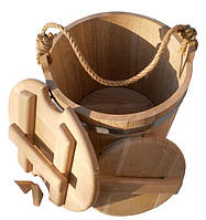 Ведро дубовое для солений (15 литров), фото 1