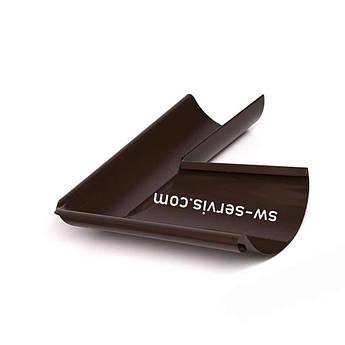 Кут жолоба 140 мм зовнішній металевий