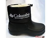Сапоги дутики подростковые-детские зимние Columbia низкие C0007