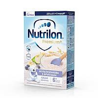 Каша молочна Nutrilon (Нутрилон) Мультизлакова з фруктами з 6 місяців, 225 гр.