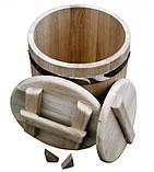 Кадка дубовая для солений 80 литров, фото 7