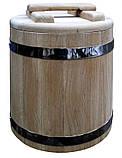 Кадка дубовая для солений 80 литров, фото 8