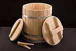 Кадка дубовая для солений 80 литров, фото 9