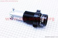 Амортизатор задний закрытый KS Rocket 70-110мм регулируемый, черно-серый