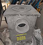 Буржуйка чавунна розбірна, фото 2
