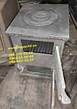 Буржуйка чавунна розбірна, фото 3