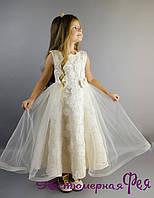 Детское нарядное элегантное платье (артикул 3/44)