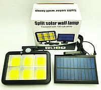 Уличный фонарь с датчиком движения Split Solar Wall Lamp на солнечной батарее nf-160c