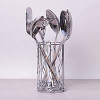 Набір кухонного приладдя Kamille 6 предметів у комплекті з підставкою 5231, фото 1