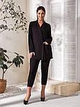 Костюм женский нарядный большого размера, фото 5