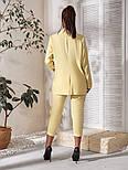Костюм женский двойка (пиджак и бриджи) большого размера, фото 2