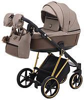 Дитяча коляска 2 в 1 Adamex Belissa Special Edition (Gold) PS-526, фото 1