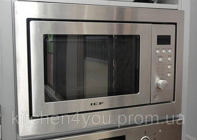 Встраиваемая микроволновая печь ICF 475 нержавеющая сталь