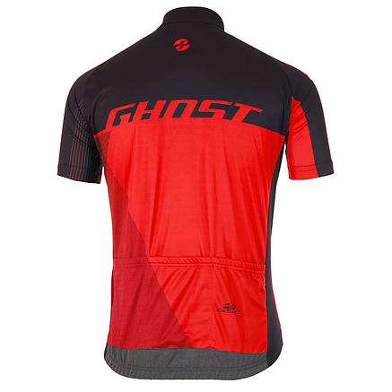 Джерсі Ghost Performance Evo, Short, M, чорно-червоне, фото 2