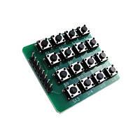 Кнопкова клавіатура, 4х4 матриця, для Arduino