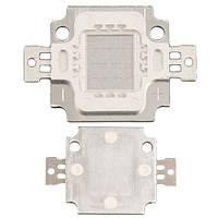 Світлодіодна матриця LED 10Вт 100-150лм 9-11В, синя