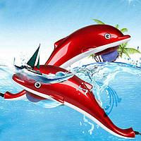 """Інфрачервоний ручний масажер """"Дельфін"""" великої 40 см, масажер для всього тіла """"Dolphin"""""""