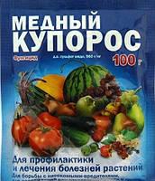 Фунгицид Медный купорос 100 гр (пакет )