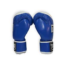 Рукавички боксерські THOR COMPETITION 14oz /PU /синьо-білі, фото 3