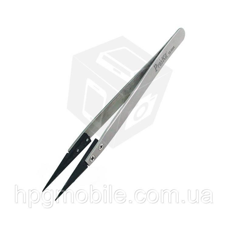 Антистатический пинцет Pro'sKit TZ-300A