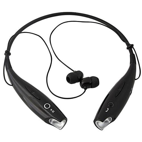 Наушники беспроводные Bluetooth гарнитура HBS-730 с шейным ободом, черные