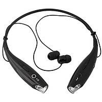 Навушники бездротові Bluetooth гарнітура HBS-730 з шийним обідком, чорні